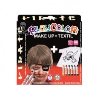 Set Playcolor Make Up + Textil Pirate, Instant