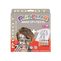 Set Playcolor Make Up + Textil Robot, Instant