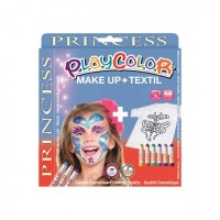 Set Playcolor Make Up + Textil Princess, Instant