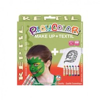 Set Playcolor Make Up + Textil Reptil, Instant