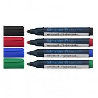 Marker whiteboard varf rotund Staedtler Lumocolor 351 set 6 culori