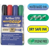 Marker flipchart Artline 370 set 4 culori