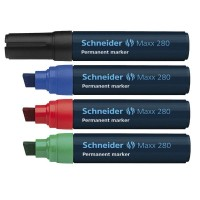 Marker permanent Schneider Maxx 280, varf tesit 4-12mm