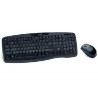 Kit tastatura & mouse fara fir (wireless) USB, Genius KB-8000X