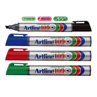 Marker permanent Artline 109, varf tesit 2-5mm
