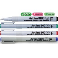 Marker OHP non-permanent Artline 803, varf 0,5mm