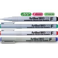 Marker OHP non-permanent Artline 803, varf 0,5mm