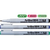 Marker OHP non-permanent Artline 804, varf 1mm