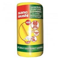 Lavete uscate rola Sano Sushi Cloth, 40 buc./set