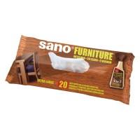Servetele umede pentru mobile Sano Furniture, 20 buc./pachet