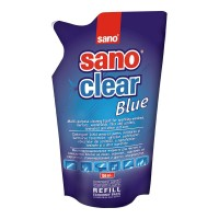 Rezerva detergent geamuri SANO Clear Blue 750 ml