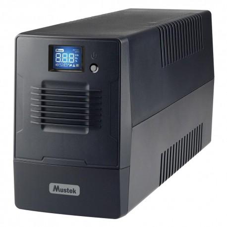 UPS MUSTEK PowerMust 636IEC (650VA) Line Interactive, IEC