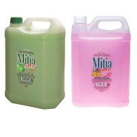 Sapun lichid Mitia 5L, diverse sortimente