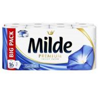 Hartie igienica Milde 3 straturi, set 16 role