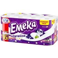 Hartie igienica Emeka 3 straturi, 16 role/set