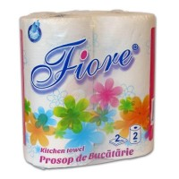 Prosop hartie Fiore 2 role/set