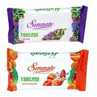 Servetele umede Senzae, 15 buc./set