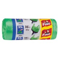 Saci menajeri Fino 35 L cu manere, 30 buc./rola, color