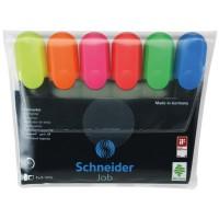 Textmarker Schneider Job set 6 culori