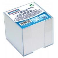 Cub hartie alba 750 file cu suport plastic Donau
