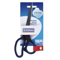 FoarFoarfeca ergonomica 16,5 cm, maner cu grip Donau Soft Grip