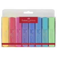 Textmarker Faber-Castell Pastel 1546 set 8 culori