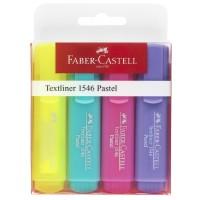 Textmarker Faber-Castell Pastel set 4