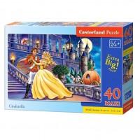 Puzzle 40 piese maxi Cenusareasa 2, Castorland