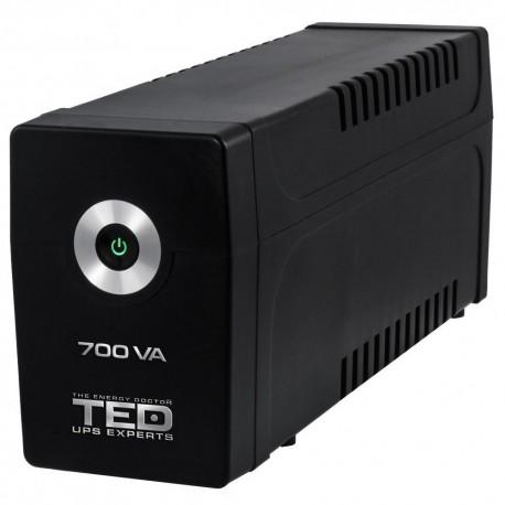 UPS TED Electric 700VA/400W, 2xSchuko