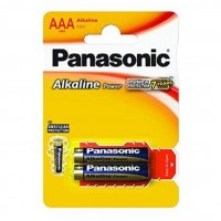 Baterie alcalina R3 – AAA, set 2 bucati, Panasonic
