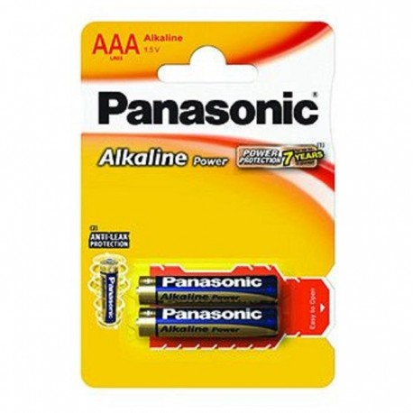 Baterie alcalina R3 – AAA, set 4 bucati, Panasonic