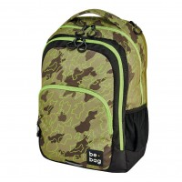 Rucsac Herlitz be.bag be.ready Abstract Camouflage + cadou stilou Pelikano