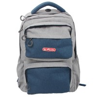Rucsac ergonomic Herlitz Foggy Blue Striped