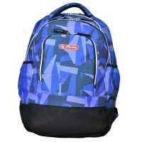Rucsac ergonomic Herlitz Java Blue Art