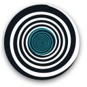 Set 2 abtibilduri pentru roti troller Nikidom - Circles