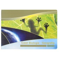 Caiet biologie/geografie A4 24 file Silent Gold