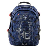 Rucsac Lego Core Line Tech Teen Minifigures Blue Camo
