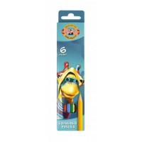 Creioane colorate Koh-I-Noor set 6 culori