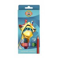 Creioane colorate Koh-I-Noor set 12 culori
