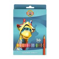 Creioane color Koh-I-Noor set 36 culori