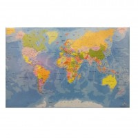 Mapa birou 44 x 68cm Harta Lumii, Koh-I-Noor