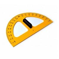 Raportor 180° pentru tabla scolara, 50 cm, Colorarte