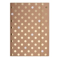 Mapa A4 cu elastic carton, Herlitz Pure Glam