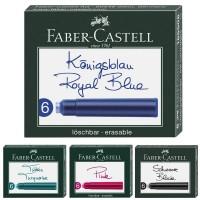 Rezerve cerneala Faber-Castell 6 buc./set