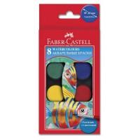 Acuarele 8 culori Faber-Castell
