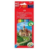 Creioane color Faber-Castell 12 culori