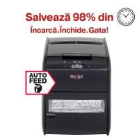 Distrugator automat de documente Rexel Auto+ 60X, 60 coli, particule
