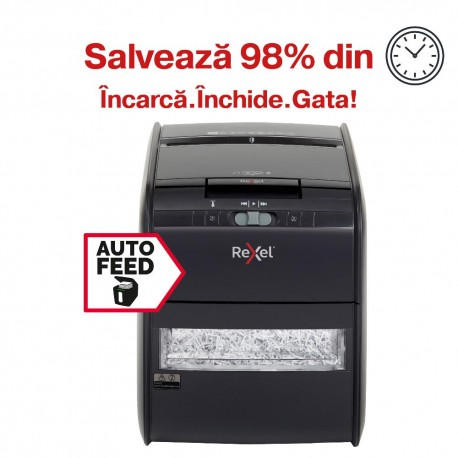Distrugator automat de documente Rexel Auto+ 60X