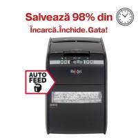 Distrugator automat de documente Rexel Auto+ 90X, 90 coli, particule