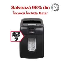 Distrugator automat de documente Rexel Auto+ 130M, 130 coli, microparticule